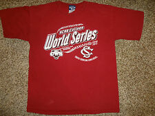 USC Gamecocks Baseball Shirt World Series 2010-2011 NCAA Youth Shirt Sz Large L