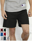 Champion 8187 Men's Athletic Cotton Gym Free Shipping  Shorts 6'' No Pocket