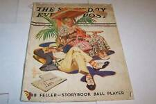 FEB 20 1937 SATURDAY EVENING POST magazine LEYENDECKER