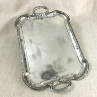 Antique Christofle Tray Silver Plate Gallia Large Twin Handle French Art Nouveau