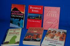 Lote 6 libros especial novela romantica-observa los titulos