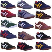 11828 Genuine Gola Harrier Classics  Mens Premium Suede Leather Lace Up Trainers