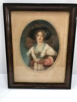 Vintage Rare 1900's James S King Mezzo Tinted Color Print Signed In Pencil