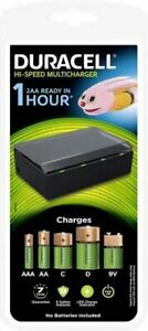 Duracell CEF22 UNIVERSAL MULTI BATTERY CHARGER