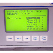 Boonton 4532 Rf Peak Power Meter Dual Channel 10khz 40ghz Tested And Working