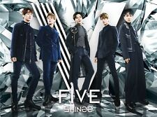 SHINee Japan 5th Album [FIVE] Type A (CD + Blu-ray + Photobook) Limited Edition