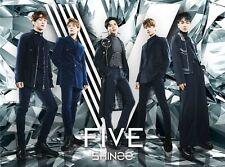 SHINee Japan 5th Album [FIVE] (CD + DVD + Photobook) Type B Limited Edition
