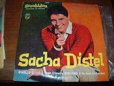 "SACHA DISTEL "" SCOUBIDOU + 3 ""  E.P.  ITALY'59"