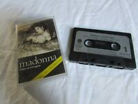Madonna – Like A Virgin -  UK Sire Cassette 1985 PAPER LABLE PLAY TESTED