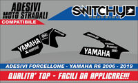 KIT Adesivi Stickers FORCELLONE YAMAHA YZF R6 2006 2019 Dekore DECALS