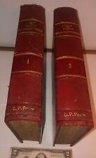 Traité des Ponts en Maçonnerie et tunnels J. CHAIX engineering BRIDGES book 1900