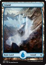 2x 2 x Island 257 - Full Art BASIC LAND - Mint MTG Battle for Zendikar