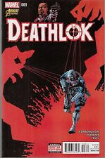 Deathlok #3 - Mike Perkins Artwork - Marvel Now - 2014