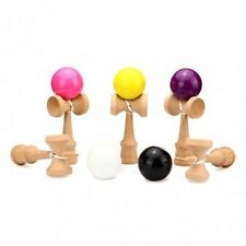 Kendama Ball Japanese Traditional Wood Game - One Item with Color Maybe Vary