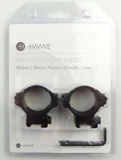 B-Ware HAWKE 22116 30 mm Ringmontage Mittel für Weaver Schiene