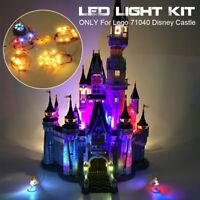 Led-Licht Beleuchtung Set nur Für lego 71040 Für Disney Schloss Steine Spielzeug