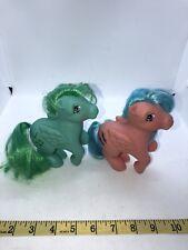 VTG MLP G1 My Little Pony Pegasus Firefly Medley Music Glitter Symbol 1983