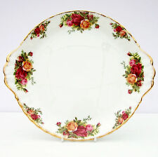 Vintage Royal Albert Old Country Roses BONE CHINA floreale Piatto per torta