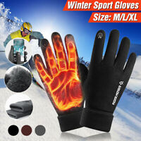 Winter Gloves Men Touch Screen Windproof Waterproof Thermal Outdoor Sports Ski