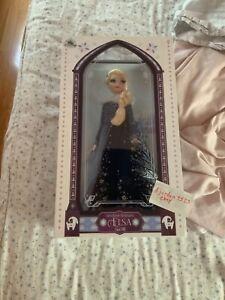 "Disney Olaf's Frozen Adventure Elsa Doll figure 17"" Limited Edition NEW"