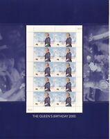 Australia Post Decimal Sheetlet - 2000 - The Queen's Birthday 2000 - MNH