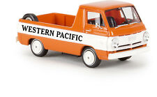 """DODGE A 100 PICK-UP """" Western Pacific """", H0 modello auto 1:87, BREKINA 34343, TD"""