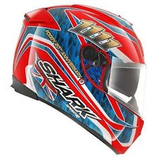 NEW SHARK Helm Speed-R2 Foggy Replica rot Gr. M 57/58 Motorradhelm Sonnenblende