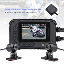 "DV688 Motorrad 1080P 2,4 ""HD-Camcorder G-Sensor Loop Audio mit GPS aufnehmen"