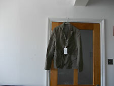 MENS BROWN CRINKLED ZARA JACKET BNWT SIZE M