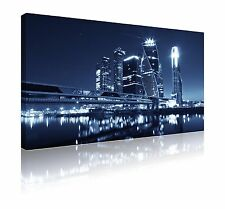 """20"""" x 30"""" Moscow international business centre wall art canvas picture FREE P&P"""