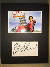 Rob Schneider AUTOGRAPHED photo mount-see signing proof