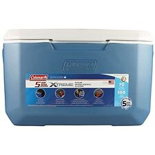 COLEMAN 70 QUART COOLER  XTREME BLUE  - Holds up to 100 cans