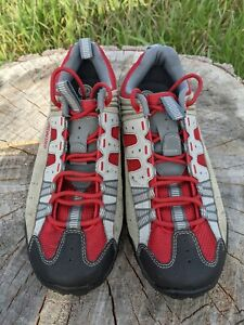 Specialized Tahoe Mountain Bike Spin Class Shoe Womens 10 Lace Up w/cleats!