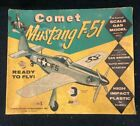 Comet Mustang F-51 U-Control Scale Gas Model Ready to Fly