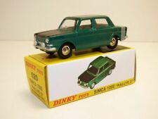SIMCA 1000 RALLYE 2 prototype 1975 vert Dinky Toys