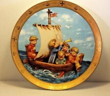 "Hummel Commemorative Columbus's Discovery Plate, ""Land in Sight"""