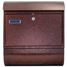 Großer Briefkasten XXL Zeitungsrolle 3 Farben 8R Antik Kupfer