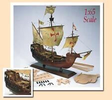 "Amati Santa Maria 21"" Wooden Ship Model Kit Historic Series Columbus' Flagship"