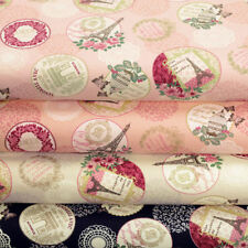Unbranded Floral 100% Cotton Upholstery Craft Fabrics