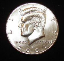 2001 D Kennedy Half Dollar BU Uncirculated  Flat fee ship