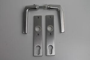Drücker Aluminium Standard - für Schloßkasten Tor Tür Gartentor Drücker Klinke