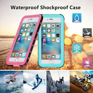 Redpepper-Waterproof Dust Shockproof Full Cover Case for iPhone 5 SE 6s 7 8 Plus