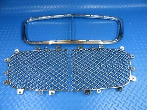 Bentley Continental Gtc Gt Flying Spur  grille inserts + chrome trim #9196