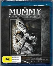 The Mummy Complete Legacy Collection Blu Ray & Region B 6 Movies