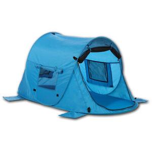 UV 80 Kinder-Sonnen-Schutz - Pop up Strandmuschel & Reisebett Zack Premium Baby