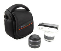 Shoulder Waist Camera Case Bag For SONY Cyber-Shot DSC ILCE-QX1/ILCE-QX1L