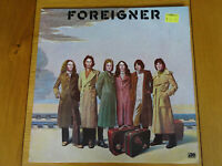 FOREIGNER SELF TITLED FIRST LP ATLANTIC ORIGINAL VINYL RECORD WITH LYRIC SHEET