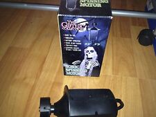 NEW ANIMATED Haunted  SPINNING MOTOR Prop w/ Moaning SOUNDS & Spooky Laughter
