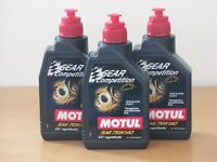 15,80€/l Motul Gear Competition  SAE 75W-140  3 x 1  L