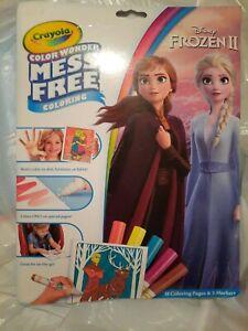 Crayola Color Wonder Coloring Pad & Markers-Frozen 2